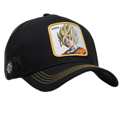 CapsLab Dragon Ball Z Goku Trucker Cap
