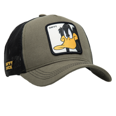 CapsLab Looney Tunes Daffy Duck Trucker Cap