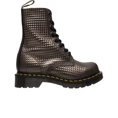 Dr. Martens Wmns 1460 Pascal Gunmetal Studded Leather