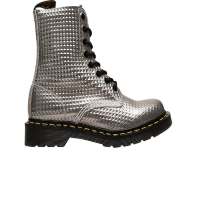 Dr. Martens Wmns 1460 Pascal Silver Studded Leather