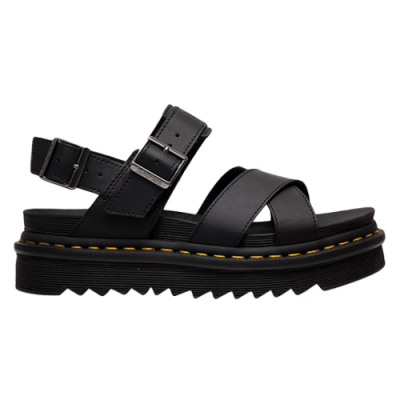Dr. Martens Wmns Voss II Black Hydro Leather Sandals