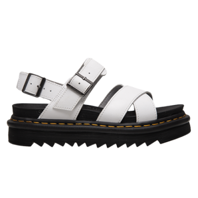 Dr. Martens Wmns Voss II White Hydro Leather Sandals