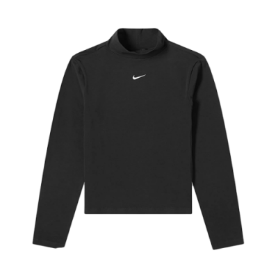 Nike Wmns Sportswear Collection Essentials Mock LS Lifestyle T-Shirt