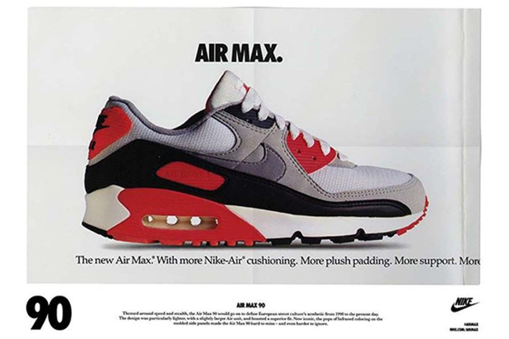 30th anniversary of Nike Air Max 90: from running tracks to future travelling