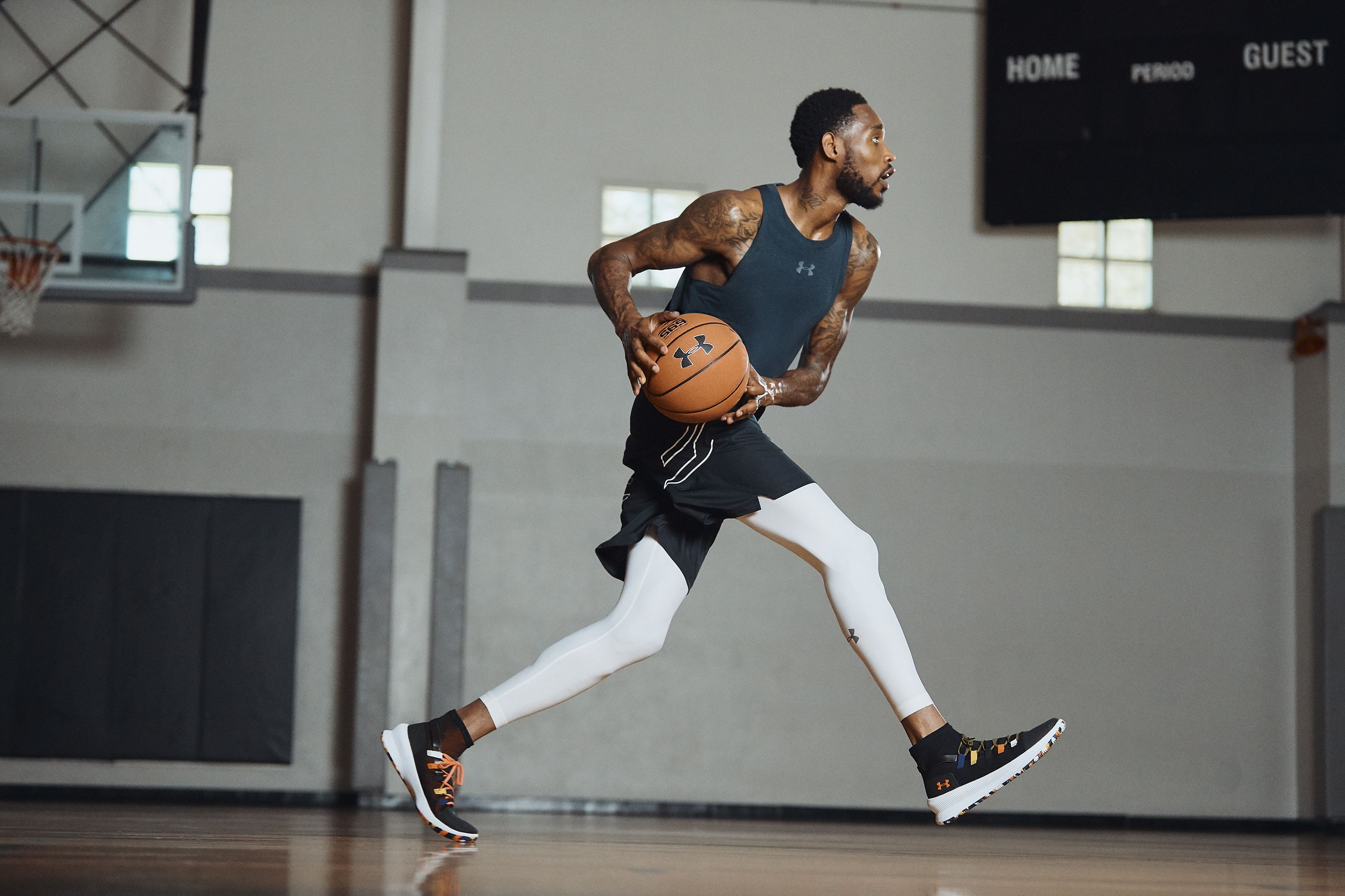 carga perfil compartir  Lympo Shop | Under Armour together with NBA players launches new M-Tag  basketball shoes