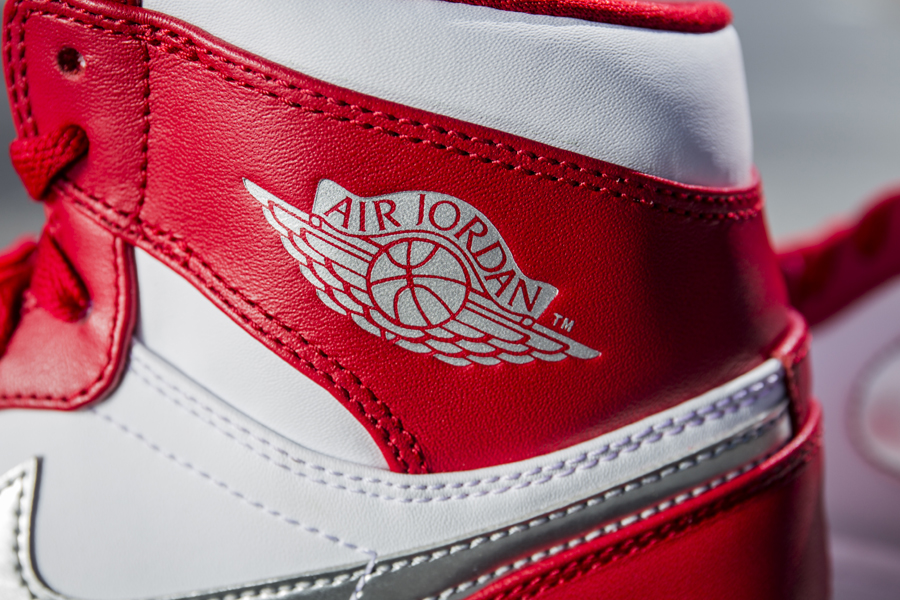 "What story does the Air Jordan ""wings"" logo tell?"
